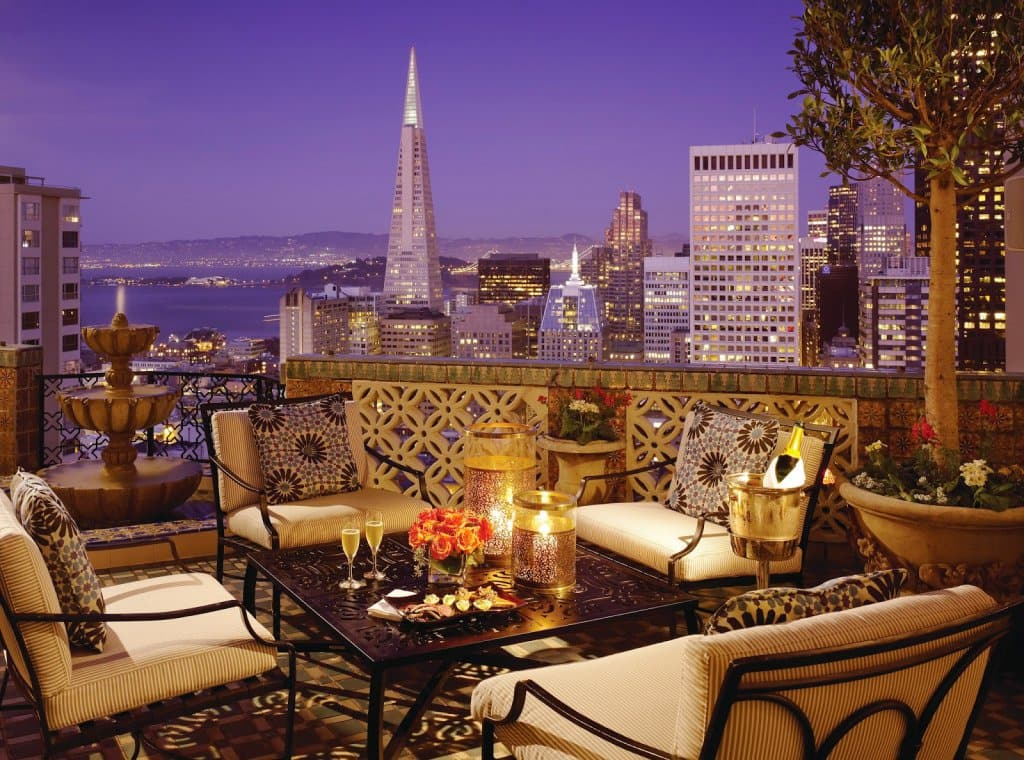 Hotel Fairmont San Francisco em San Francisco na Califórnia