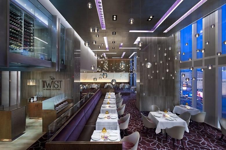 Restaurante Twist em Las Vegas