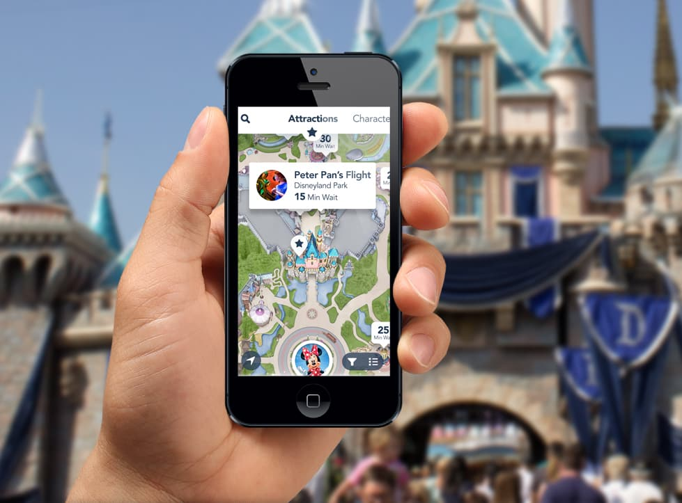 Aplicativo Disney California