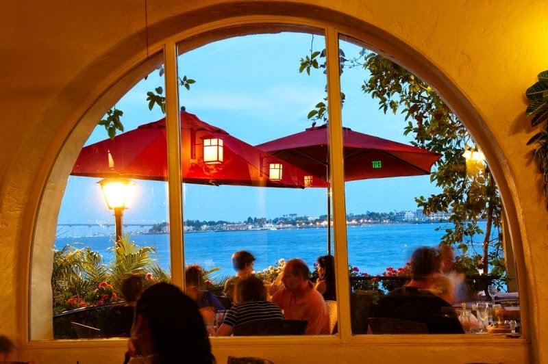 Restaurantes em Seaport Village em San Diego