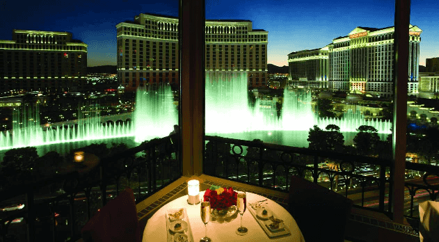 Eiffel Tower Restaurante Las Vegas