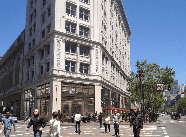 Nordstrom's Market Street