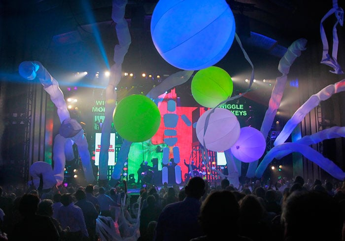 Show do Blue Man Group em Las Vegas