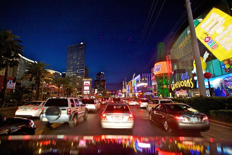 The Strip em Las Vegas