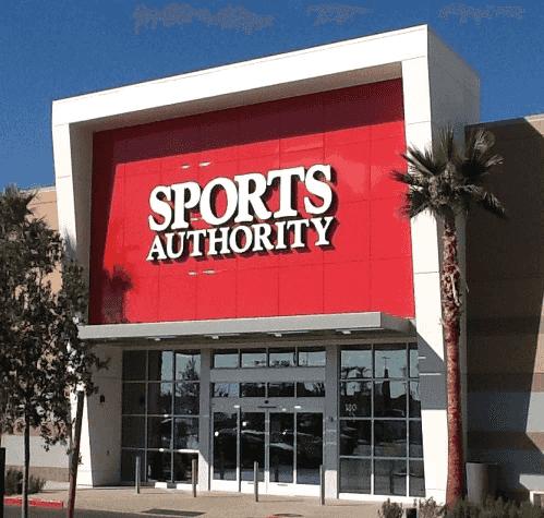 Loja Sports Authority em Las Vegas
