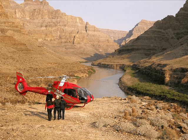 Passeio de Helicóptero no Grand Canyon em Las Vegas
