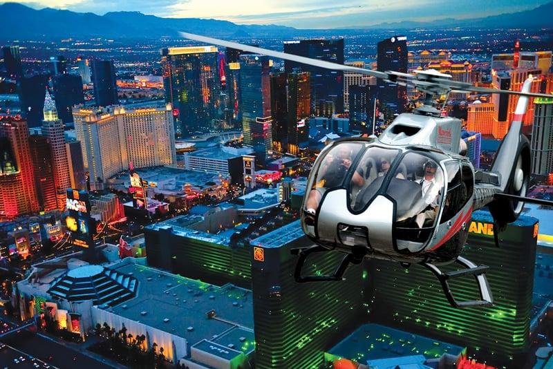 Passeio de Helicóptero em Las Vegas