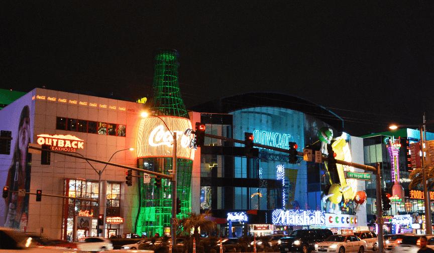 Restaurante Outback na Strip em Las Vegas