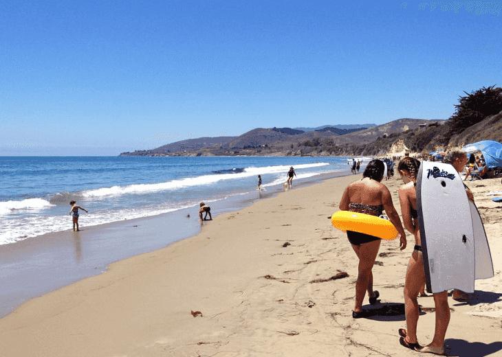 Dicas para ir a praia em Santa Bárbara na Califórnia