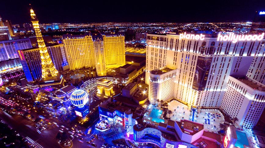 10 hotéis temáticos em Las Vegas