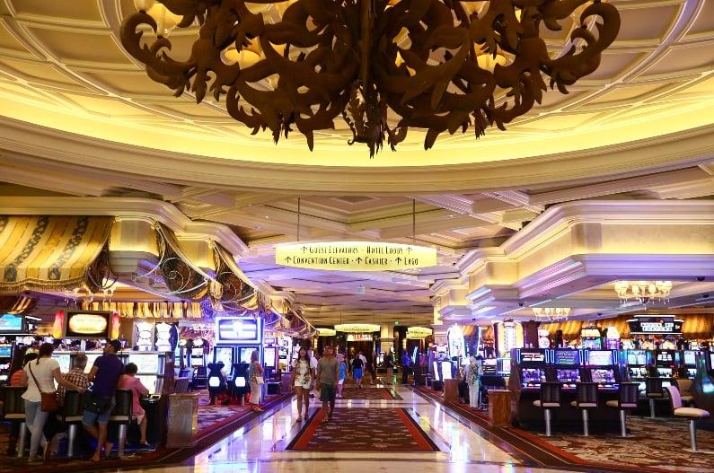 Cassino do Bellagio em Las Vegas