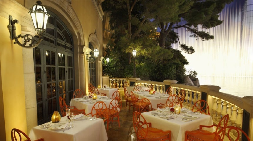 Restaurantes do Bellagio em Las Vegas