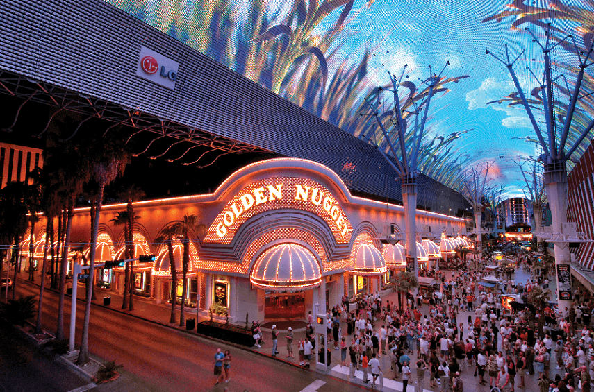 Hotel Golden Nugget em Las Vegas