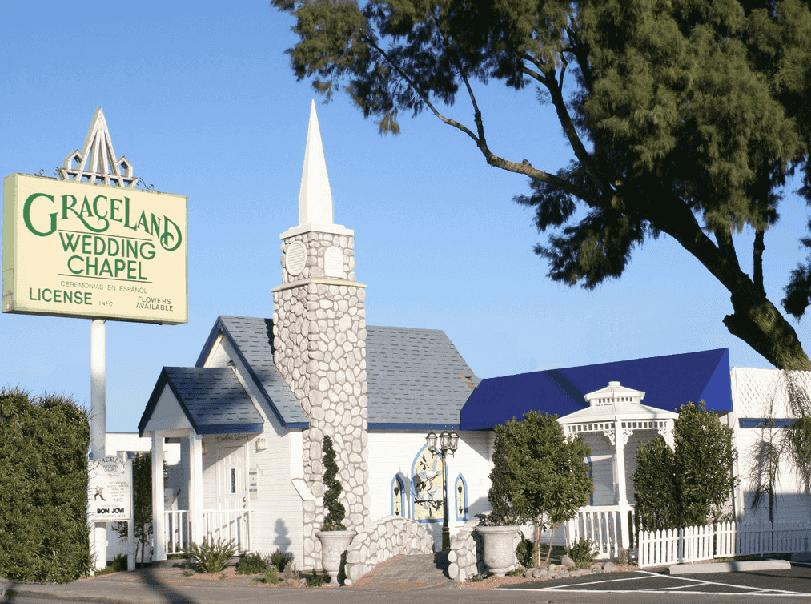 Graceland Wedding Chapel em Las Vegas