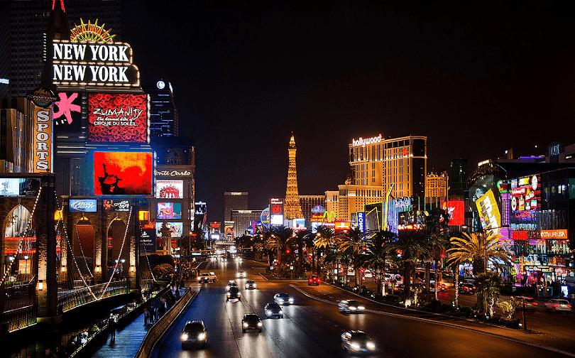 Atrações dos hotéis que você vê da rua em Las Vegas