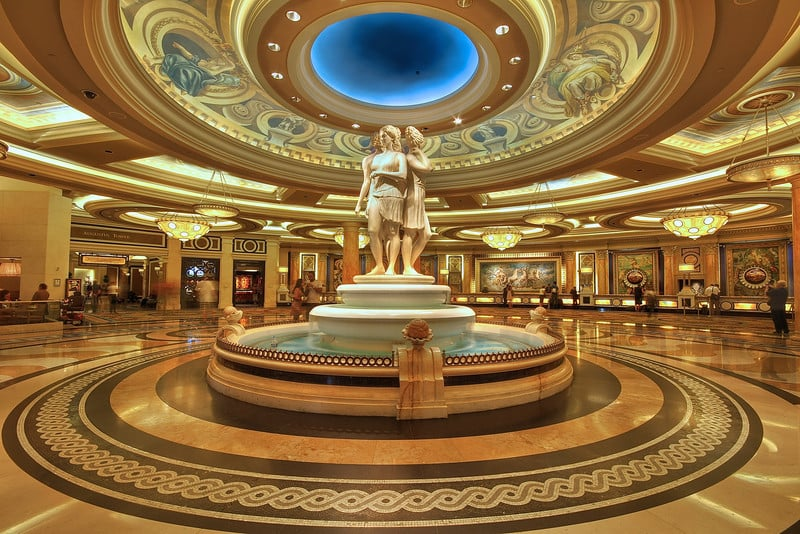 Hotéis que lembram cidades na Strip em Las Vegas: Hotel e Cassino Caesar's Palace em Las Vegas