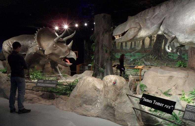 Museu de história natural em Las Vegas