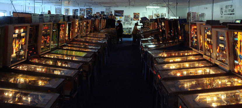 Museu Pinball Hall of Fame em Las Vegas