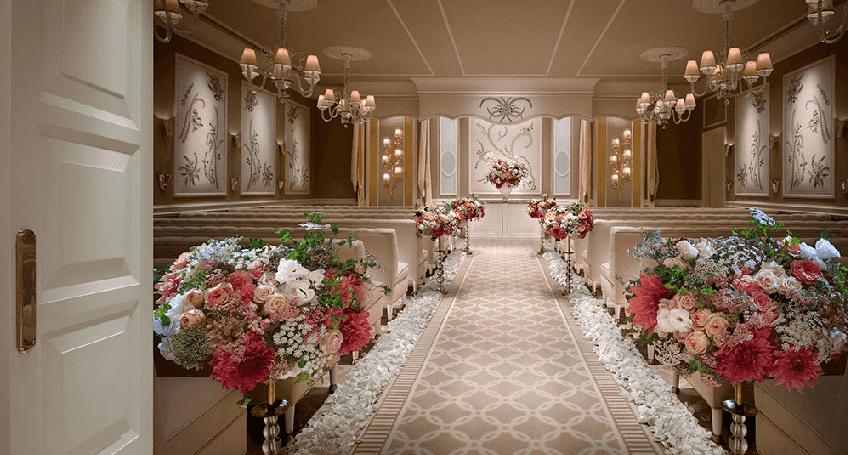 Salões de Casamento do Wynn em Las Vegas