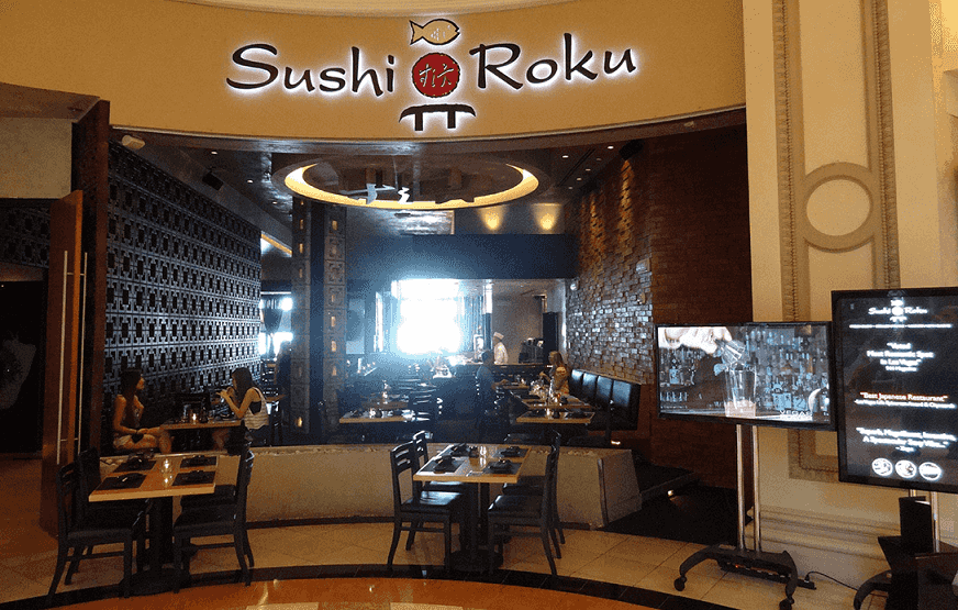 Sushi Roku em Las Vegas