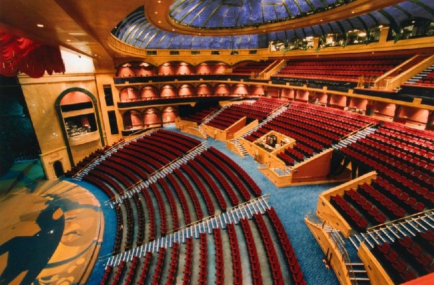 Teatro do Bellagio em Las Vegas