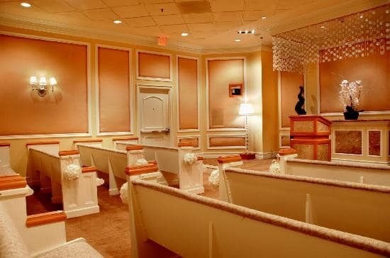 Treasure Island Wedding Chapels em Las Vegas