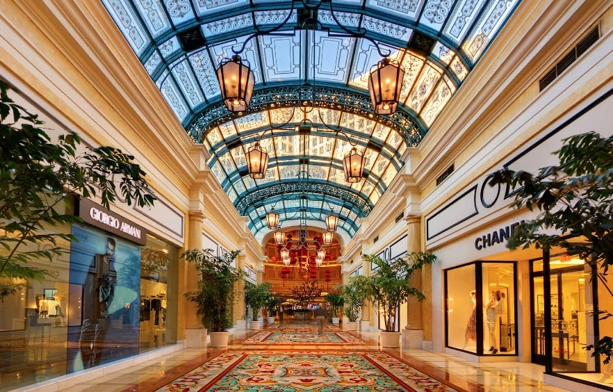 Via Bellagio em Las Vegas