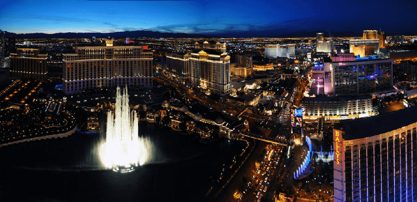 10 hotéis na Strip em Las Vegas