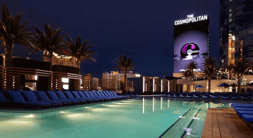 Terceiro andar do Hotel Cosmopolitan em Las Vegas