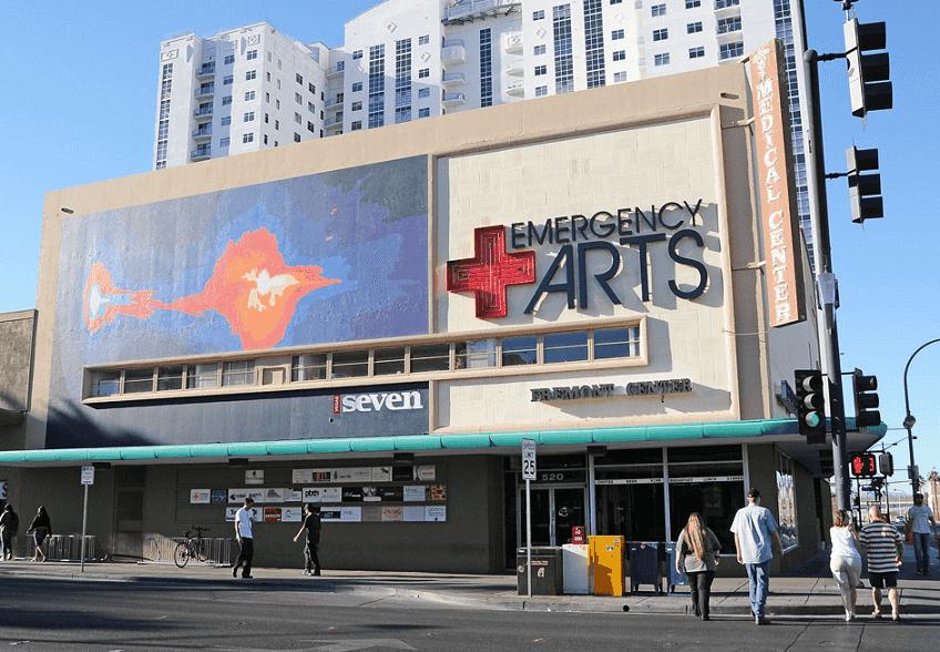 Emergency Arts em Downtown Las Vegas