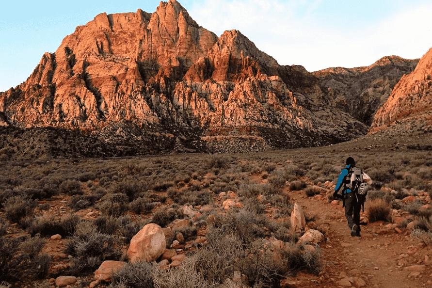 Caminhada no Red Rock Canyon em Las Vegas