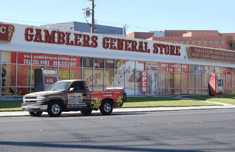 Gambler's General Store no centro de Las Vegas