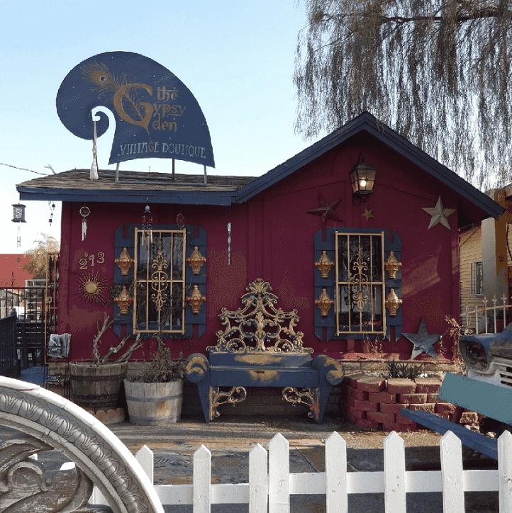 Gypsy Den no centro de Las Vegas
