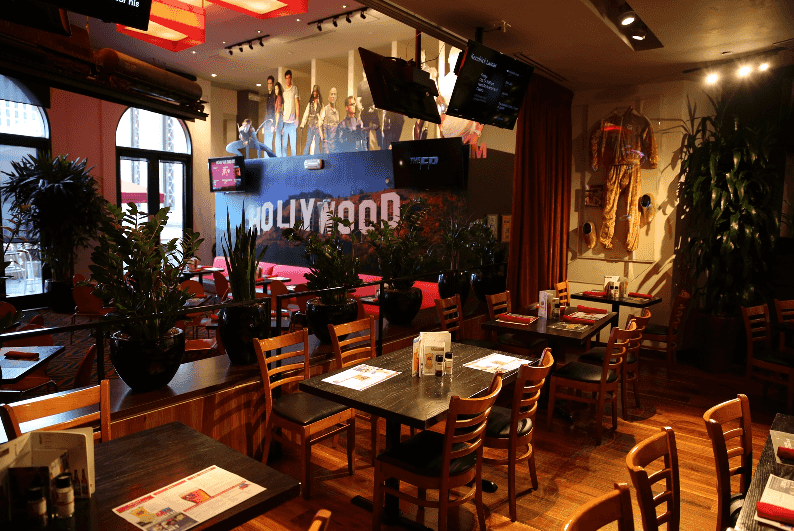 Restaurante Planet Hollywood nas Forum Shops em Las Vegas