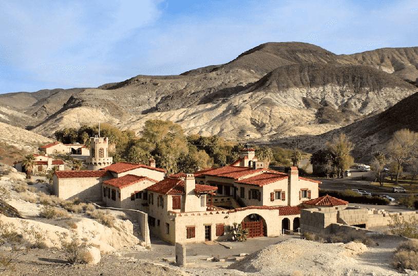 Scotty's Castle no Death Valley