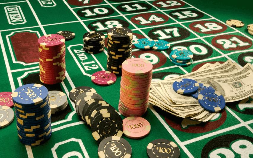 Controle do dinheiro em Las Vegas