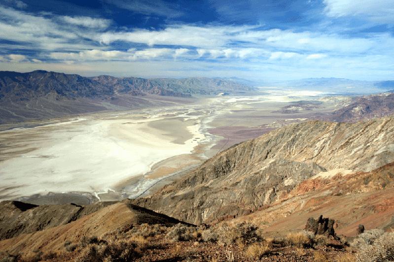 Dante's View no Death Valley
