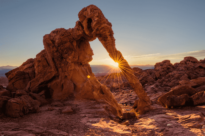 Elephant Rock no Valley of Fire