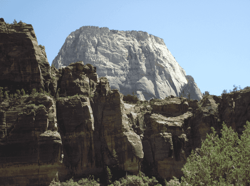 Great White Throne no Zion National Park