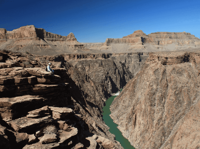 Inner Gorge no Grand Canyon