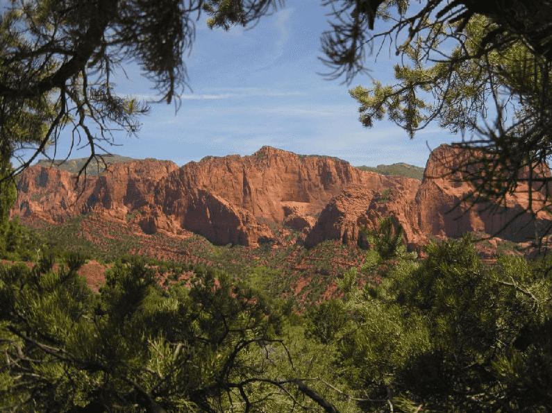 Kolob Canyons no Zion National Park em Las Vegas