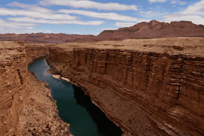 Marble Canyon no Grand Canyon