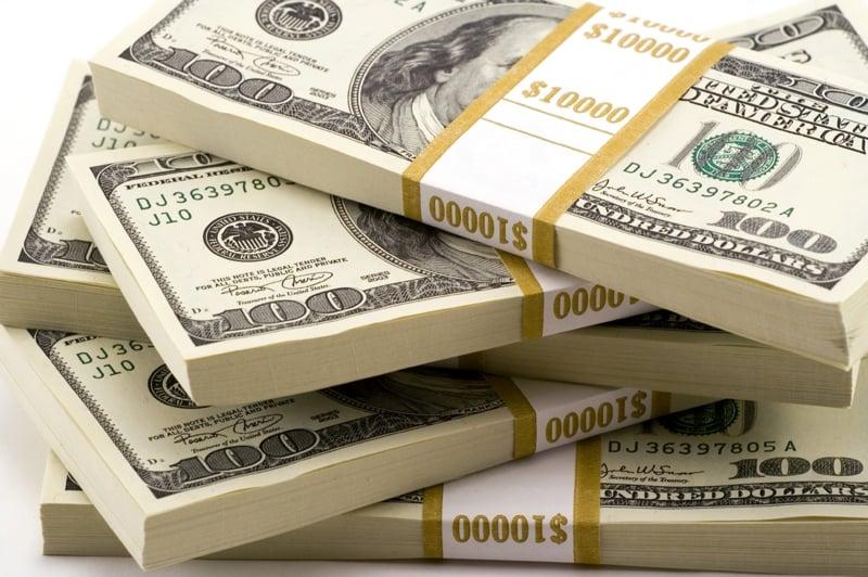 Resgate de dinheiro em Las Vegas