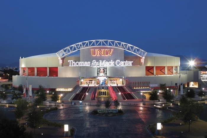 Thomas & Mack Center em Las Vegas