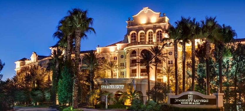 Hotel Resort JW Marriott em Las Vegas