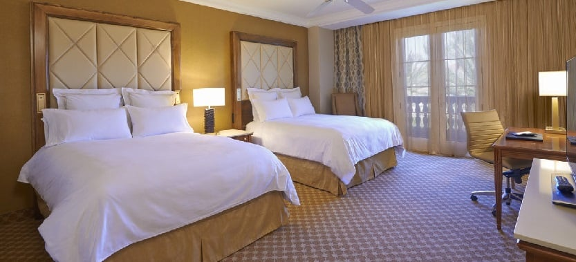 Quartos no Hotel JW Marriott em Las Vegas