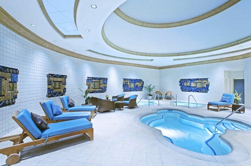 SPA e Academia no Hotel JW Marriott em Las Vegas