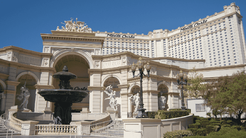 Como é o Hotel e Cassino Monte Carlo em Las Vegas