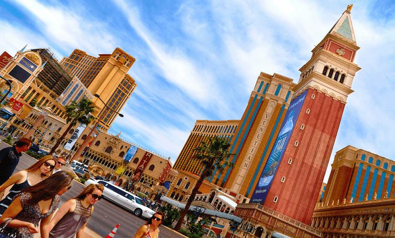 Escolha da estação em Las Vegas