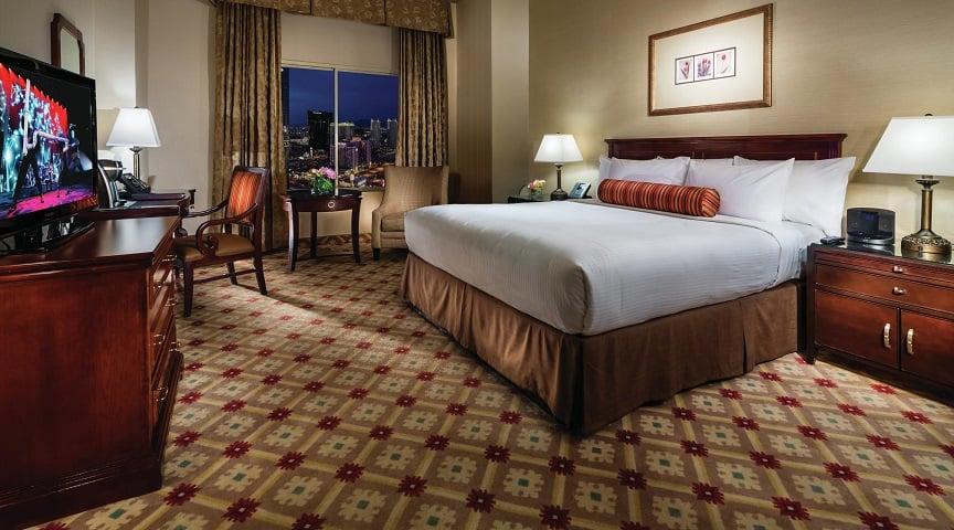 Quartos do Hotel e Cassino Monte Carlo em Las Vegas